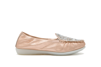 898-3 Champagne Loafer