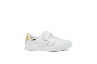 BB8988-1A Kids Gold Sneakers