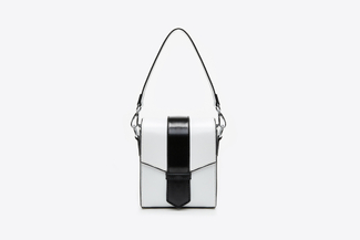 8060 White Boxy Bag