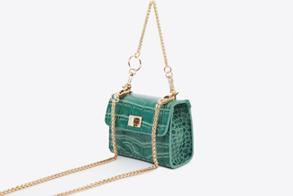 HY-48 Green Mini Chain Bag