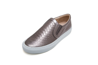 8988-126 Pewter Metallic Sneakers