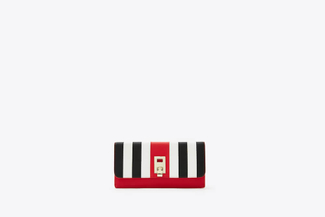 4754 Red Nautical Wallet