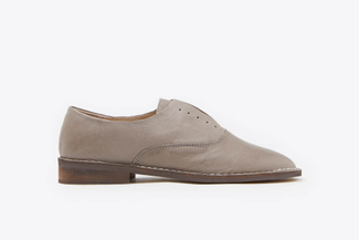 8346-7 Grey Soft Laceless Slip-On Shoes