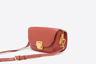 SB-D248 Melon Billy Leather Compact Crossbody